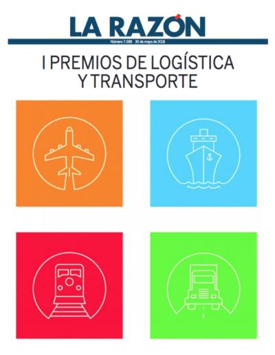 """<a href=""""https://www.larazon.es/damesuplementos/Otros/2018-05-30_premios/index.html""""><b>I Premios de Logística y Transporte</a>"""