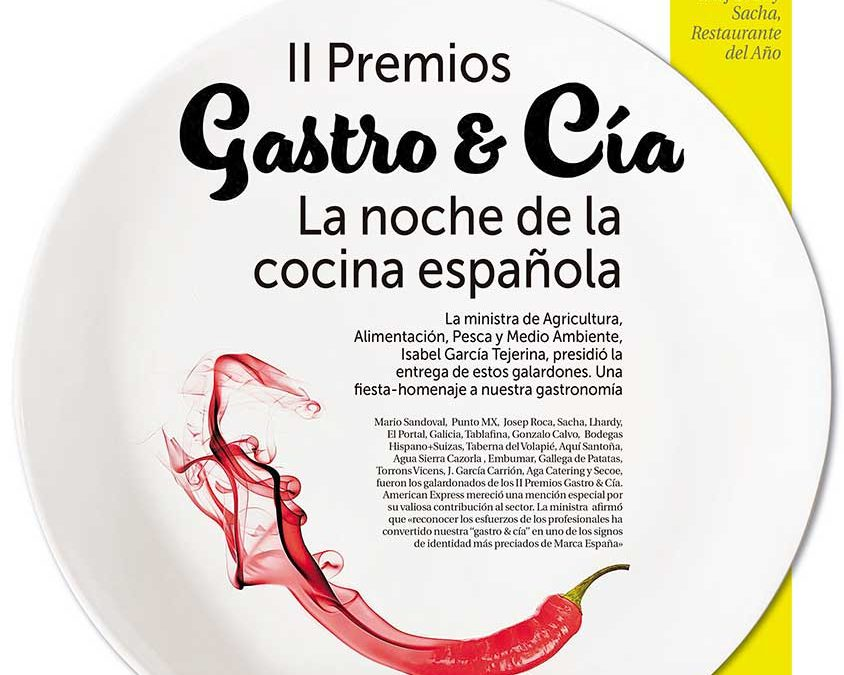 II Premios Gastro 2017