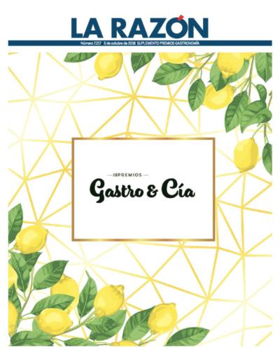 """<a href=""""https://www.larazon.es/damesuplementos/Otros/2018-10-05_gastro/index.html""""><b>Premios Gastro 2018</a>"""