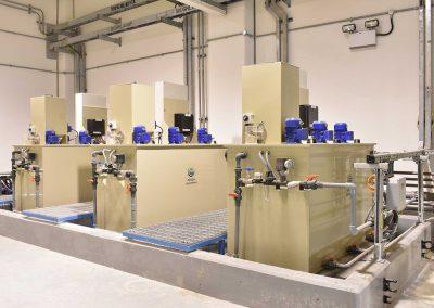 Equipos de preparación de Polielectrolito para ACCIONA AGUA