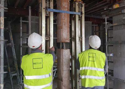Foto-4.-Eliminación-de-pilares-de-lanta-baja-en-Edificio