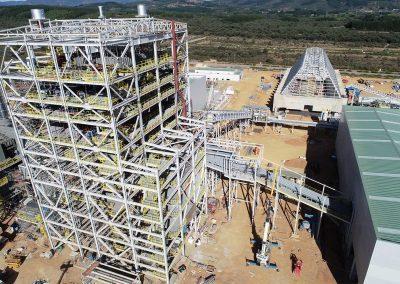 Foto-aérea-obras-planta-de-biomasa-en-Cubillos-del-Sil