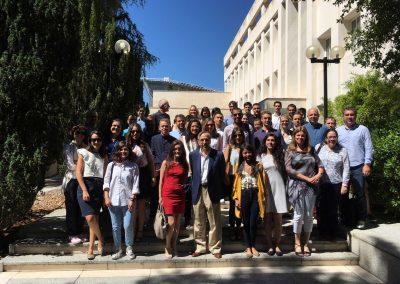 International Accounting Research Symposium, celebrado en la Fundación Ramon Areces. El Director de la Cátedra UAM-Auditores Madrid con algunos profesores y asistentes al Simposio