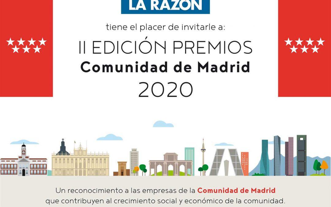 II Premios Comunidad de Madrid La razón